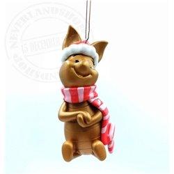9308 Metal Ornament Sitting - Piglet