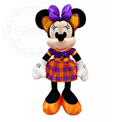 DisneyStore Halloween Plush - Minnie