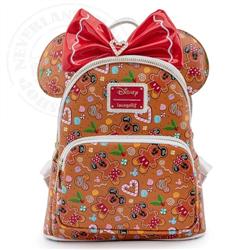 Loungefly Mini Backpack & Headband Gingerbread - Mickey & Minnie