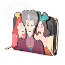Loungefly Zip Around Wallet Evil - Step Mother & Step Sisters