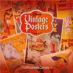 Vintage Poster Kalender 2022 - Disney