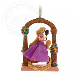 9174 Fairytale Moments Sketchbook Ornament - Rapunzel