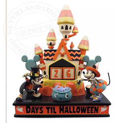 Halloween Countdown - Mickey & Minnie