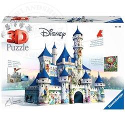 3D Disney Castle Puzzel