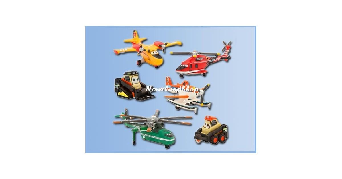 6dlg Speelset - Planes - Fire & Rescue
