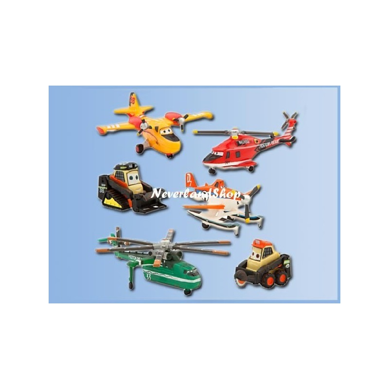 6dlg Speelset - Planes - Fire & Rescue