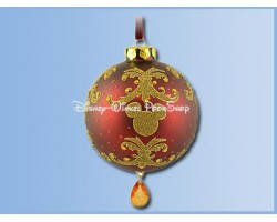 7490 Ornament Bal Victrorian met pegel - Mickey