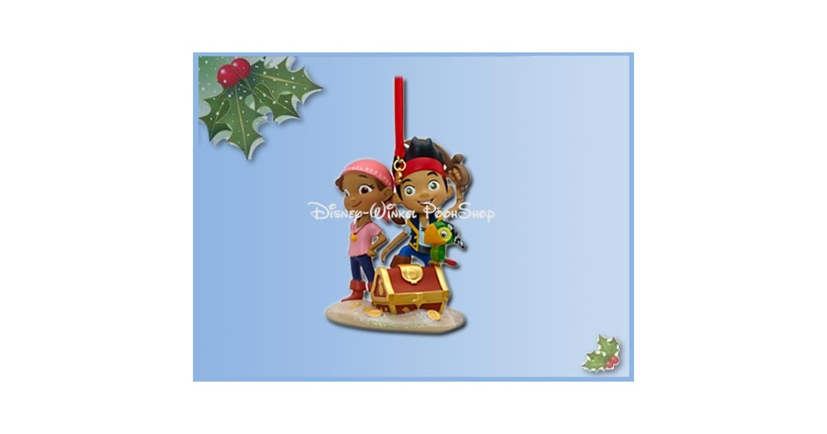 8078 3D Dangle Ornament - Jake, Issey En Skully