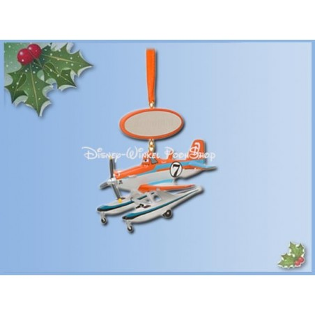 8084 3D Dangle Ornament - Planes 2 - Dusty