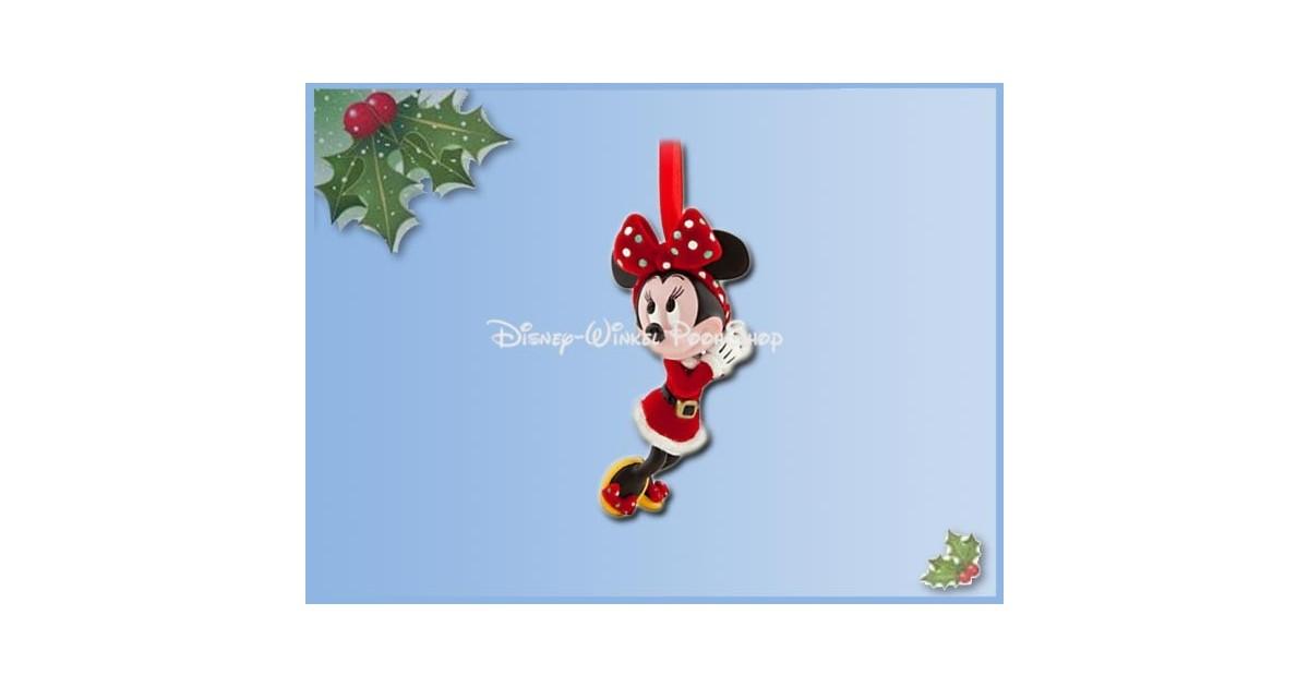 8149 3D Dangle Ornament - Retro Santa Holiday Minnie