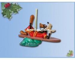 8264 3D Dangle Ornament - Surfing Goofy