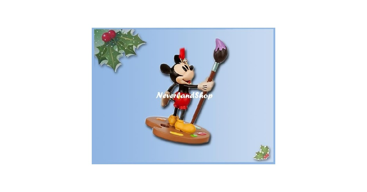 8269 3D Dangle Ornament -  Mickey Painting