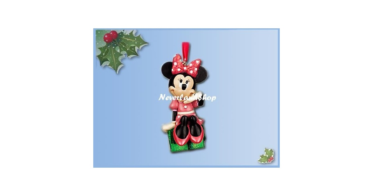 8279 3D Dangle Ornament - Minnie op Kado