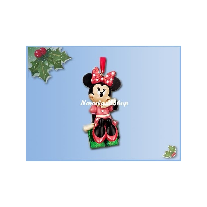 8279 3D Dangle Ornament - Minnie op Kado