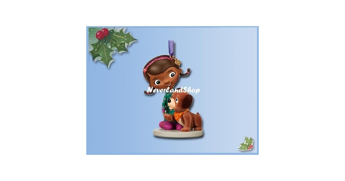 8280 3D Dangle Ornament - Doc McStuffins & Findo