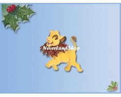 8315 3D Dangle Ornament - Lion King - Simba