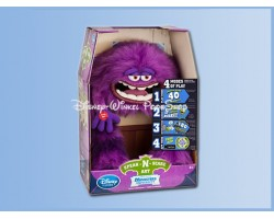 Speak-N-Scare Talking Action Figure - Monsters Inc. - Art