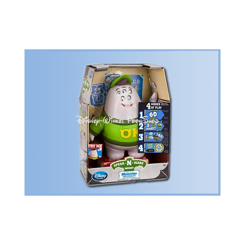 Speak-N-Scare Talking Action Figure - Monsters Inc. - Squishy