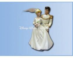 Cake Topper - Cinderella & Prince