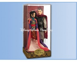 Disney Fairytale Designer Collection Mulan And Li Shang Dolls