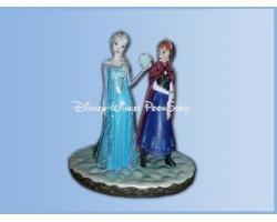 Frozen Statue 10cm - Anna & Elsa