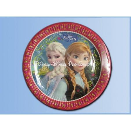 Kartonnen Bordjes - Frozen - Anna & Elsa