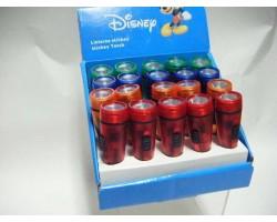 Mini zaklamp op batterijen - Mickey