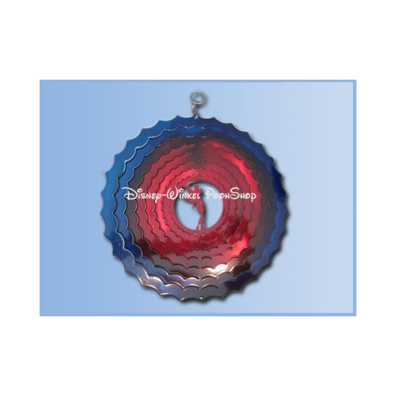 Windcharm Middel Blauw/Rood 30cm - Tinker Bell