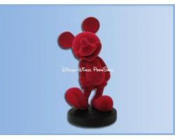 Mid Figuur Fushia Flock 23cm - Mickey