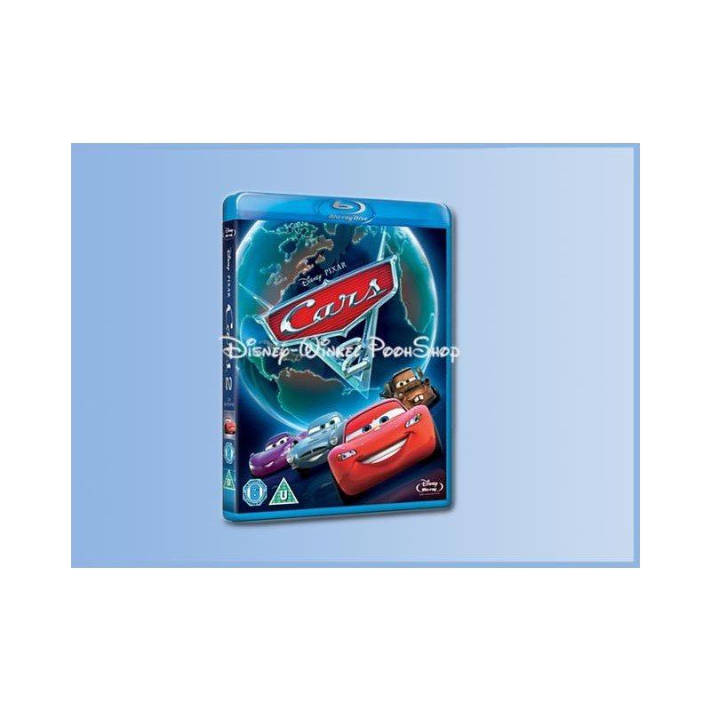 Blue-ray - Pixar Cars 2