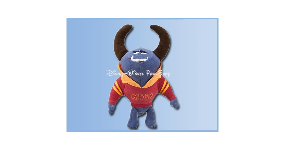 Disney Store Plush Bean Bag 25cm - Monsters Inc 2 - Johnny