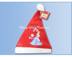 Bonte Satin Kerstmuts - Cinderella