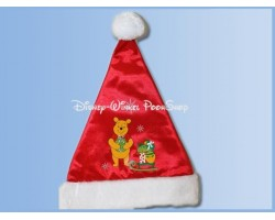 Bonte Satin Kerstmuts - Pooh