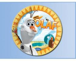 Bordjes 8 Stuks - Frozen - Olaf