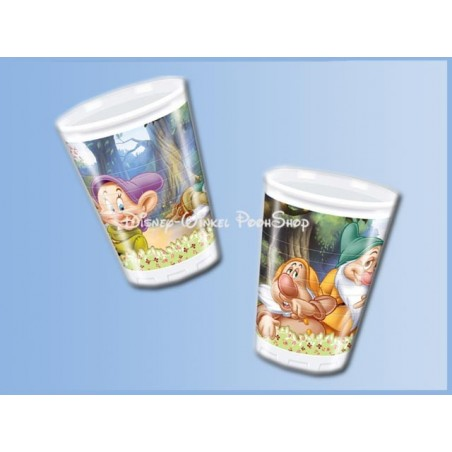 Plastic Bekers 10 Stuks - Sven Dwarfs