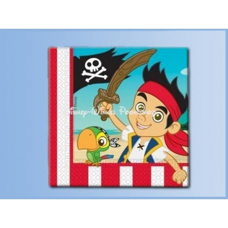 Servetten - Jake en de Nooit Gedacht Piraten