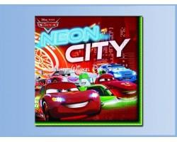 Servetten Neon - Cars