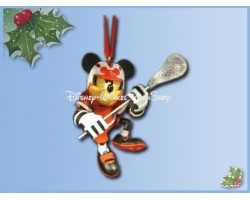 7224 3D Dangle Ornament LaCrosse - Mickey