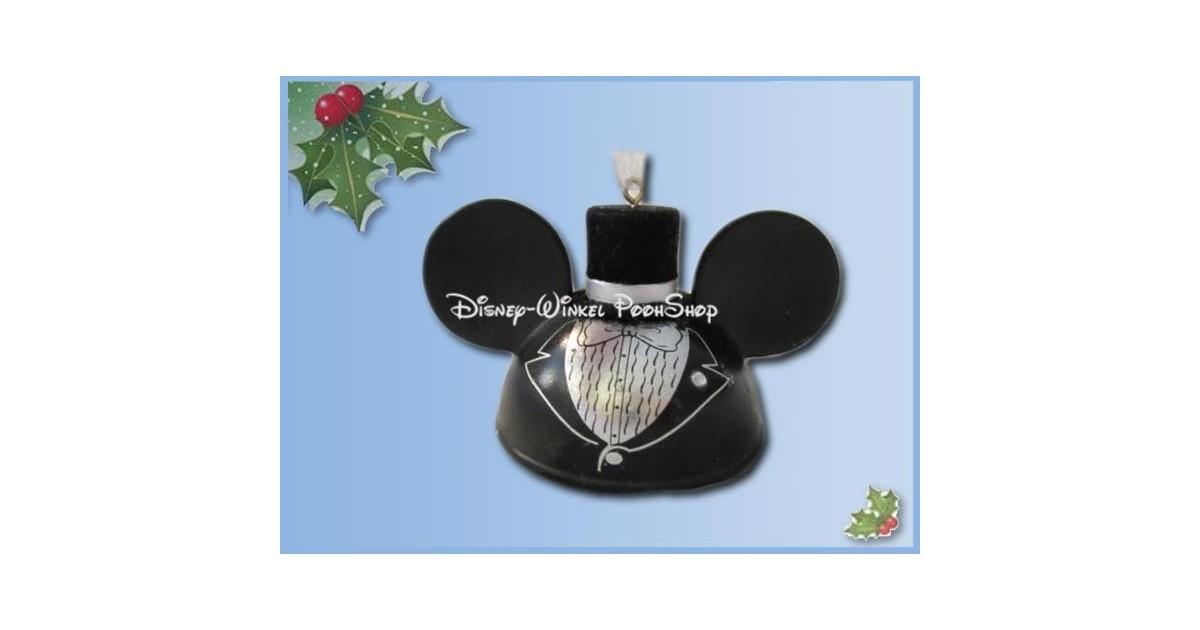7272 3D Ornament Ears - Wedding - Mickey