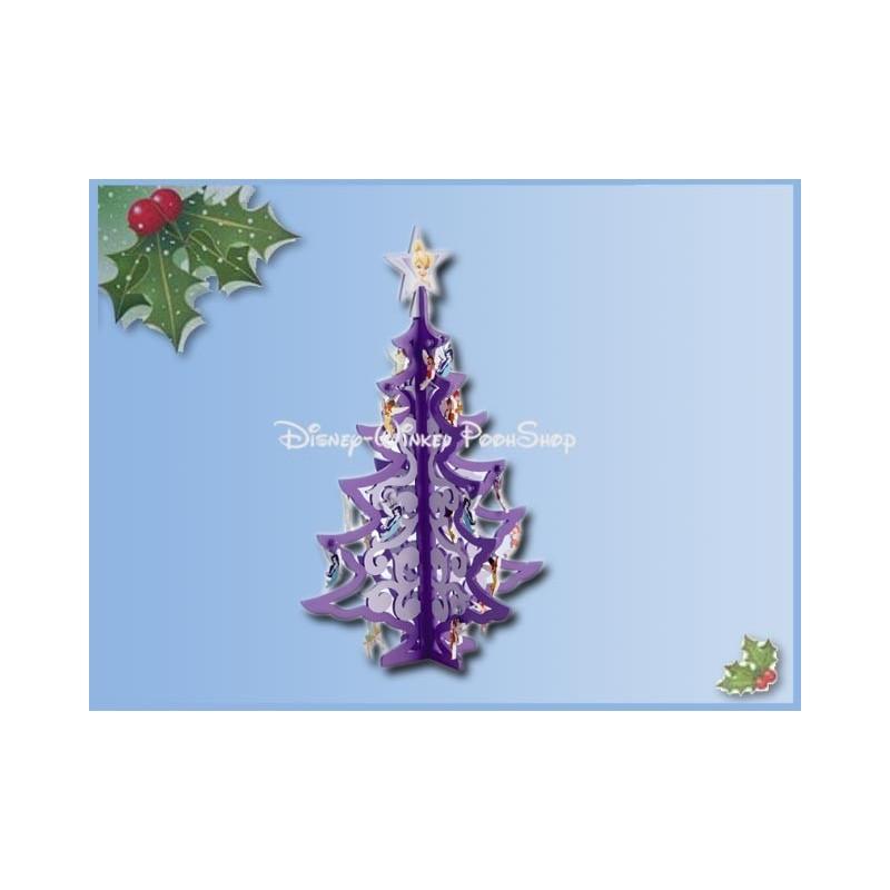 Houten kerstboom met ornamenten - Tinker Bell & Fairies