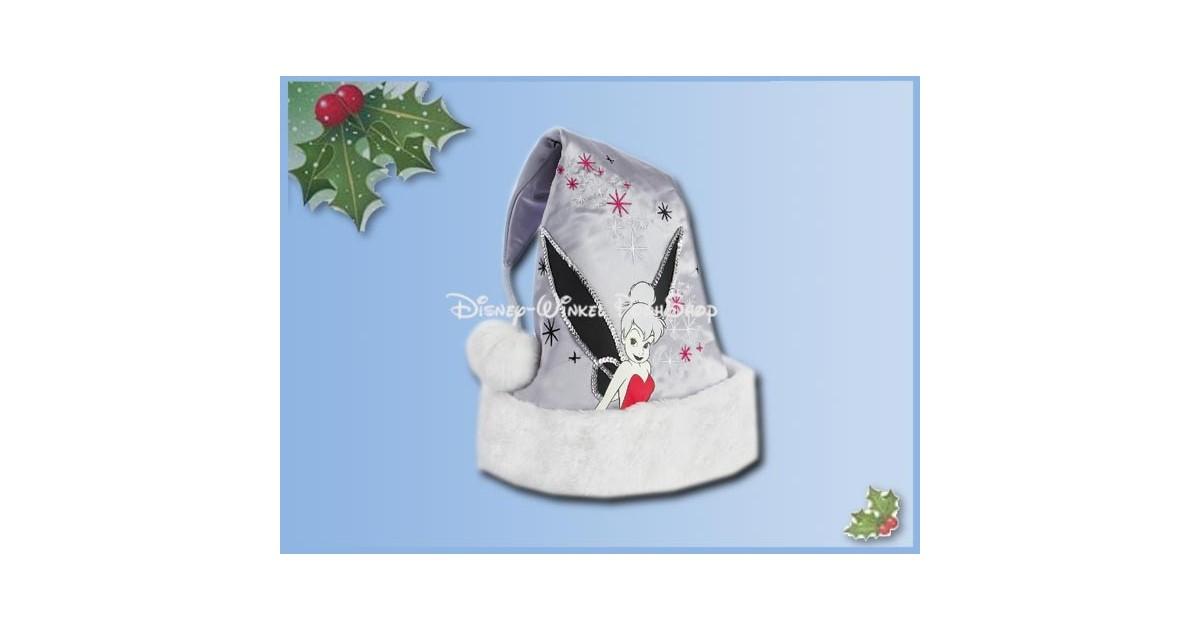 KerstMuts Zilver Satijn - Tinker Bell