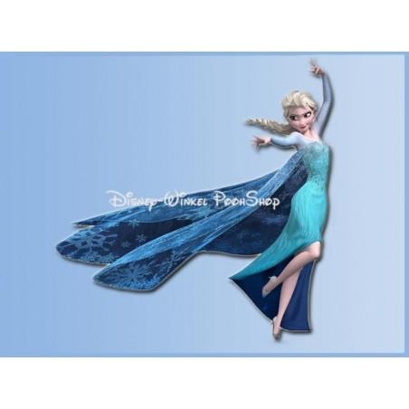 Muur Sticker 58/57cm - Frozen - Elsa