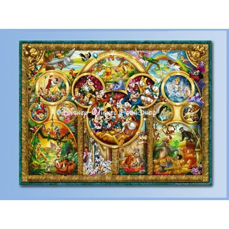 Puzzel 1000 Stuks - Disney Familie