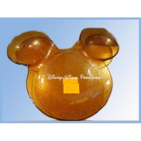 Schaaltje van  Geel Glas -  Mickey
