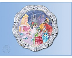 Jewels of Disney Luxe Bord - Sleeping Beauty