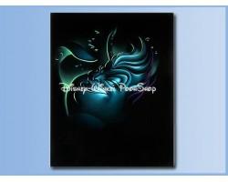 Villains Giclee on Canvas - UrsulabrThe Little MermaidbrDe Kleine Zeemeermin