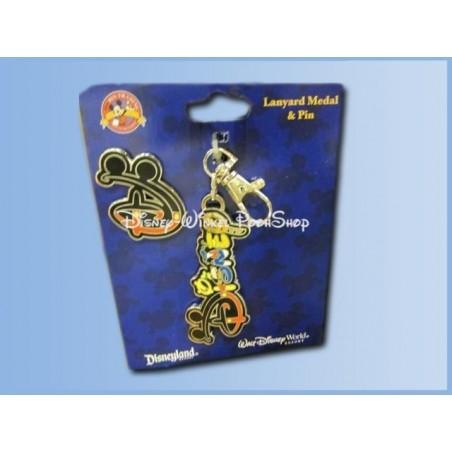 Grote Metalen Sleutelhanger + Pin - Disney