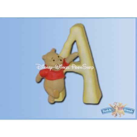 Magnetisch Alfabet Letter A - Pooh