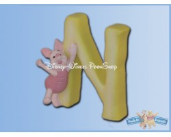 Magnetisch Alfabet Letter N - Piglet