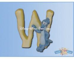 Magnetisch Alfabet Letter W - Woezel